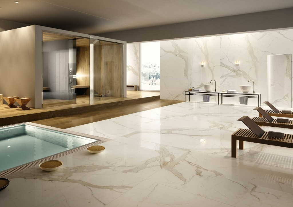 How To Add Gloss Porcelain Tile